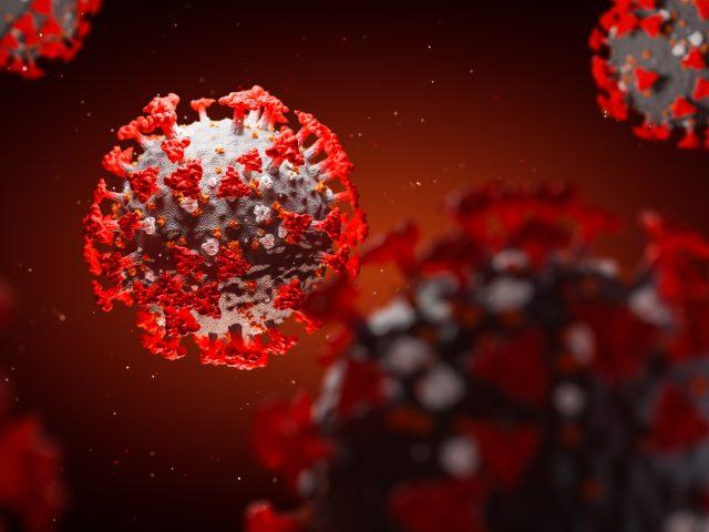 Concept of SARS-CoV-2 or 2019-ncov coronavirus