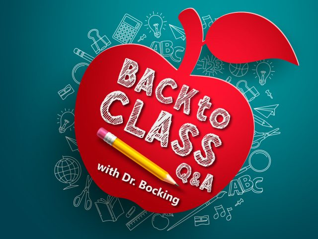 Back to Class – Q and A